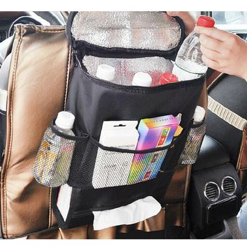 Car Insulated Convenient Food Storage Hanging Bag
