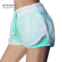 S-L 5 Colors Summer Shorts Women Fashion Female Double Beach Breathable Casual Workout Sportswear Ladies Shorts Women