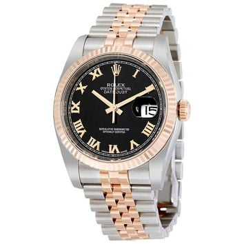 Rolex  18K Everose Gold Rolex Jubilee Automatic Mens Watch 116231BKRJ