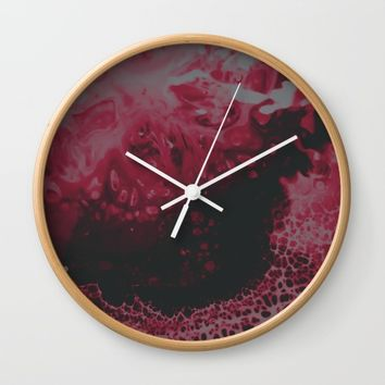 lovehurts Wall Clock by DuckyB