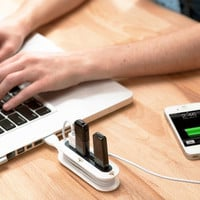 Contort Flexible USB Hub