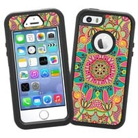 """Brilliant Tribal """"Protective Decal Skin"""" for OtterBox Defender iPhone 5s Case"""