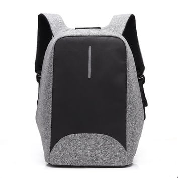 CoolBell 2017 Waterproof 15.6 inch Men Women Backpack Anti-theft Business Backpack Bag for Laptop Computer External USB Charge