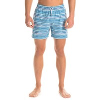 Bermuda Swim Trunks in Waverunner by The Southern Shirt Co..