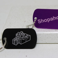 Shopaholic Key Chain or Necklace