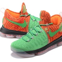 Nike Zoom KD 9 Grass/Orange Basketball Shoe