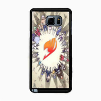 Fairy Tail logo casesbyvickie for Samsung Galaxy Note 5 Case *NP*
