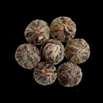 Three Flower Burst - Artisan Blooming Green Tea from China