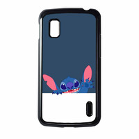 Hello Stitch Disneylilo & Stitch Nexus 4 Case