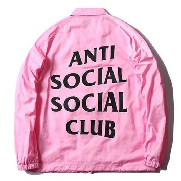 ANTI SOCIAL SOCIAL CLUB Fashion Jacket Stylish Windbreaker [9535280967]