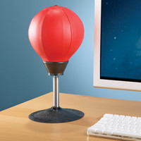 The Desktop Punching Bag