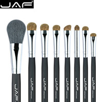 JAF Classic 8pcs Makeup Brush Set Professional Makeup Brushes Kit Blush Eye Shadow Powder Eyebrow Brush Beauty Tool Set