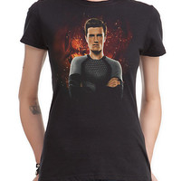 The Hunger Games: Catching Fire Peeta Girls T-Shirt | Hot Topic