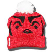 ZooZatz Metallic Bucky Folded Beanie (Red) | University Book Store