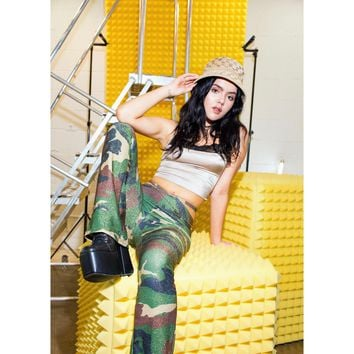 GI Jetson Green Camo Thong Pants