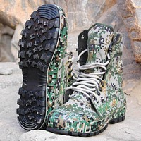 Special Troops Mountain Camouflage Tactical Boots Lightweight