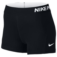 "Nike Pro Cool 3"" Compression Shorts - Women's at Lady Foot Locker"