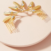 Feather Lock Hair Comb