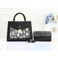 Hermes casual two-piece one-shoulder bag hot seller in serrated patchwork color #7