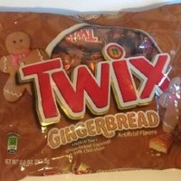 Twix Gingerbread Minis Chocolate Candy for the Holidays, 10 Ounce Bag