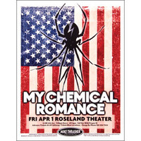 My Chemical Romance - Concert Promo Poster