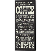 Pela Studio 'Coffee Lovers I' Canvas Art