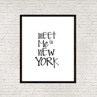 New york city,New york quote,Instant downloa,Typography art,Typographic print,Word art,Wall hanging,Printable art,Home decor,Wall decor