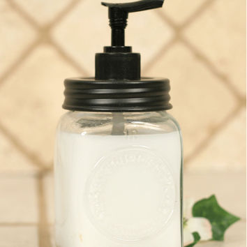 Mini Dazey Butter Churn Jar Soap Dispenser - *FREE SHIPPING*