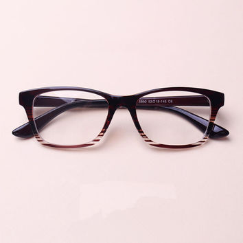 Chashma Brand Sexy Eyewear Large Frame TR 90 Cat Eyes Glasses Fashionable Prescription Glasses Frame