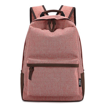 On Sale Back To School Comfort Casual Hot Deal College Stylish Canvas Cotton Pc Zippers Backpack [6304975364]