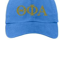 TPA / Theta Phi Alpha /Choose Your Colors / Sorority Cap