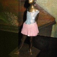 Little Dancer Fourteen Years Old Alva s Russian S Eylanbekav Inspires Edgar Degas