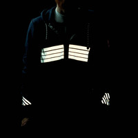 Reflective Hoodie Sweatshirt for Cyclist & Runners | Fiks:Reflective