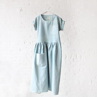 rennes — rennes Washed Out Dress