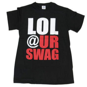 Funny LOL At Your Swag Black Shirt