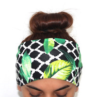 leaf headbands,yoga hairband, headbands,Pilates headbands,headbands,yoga headbands