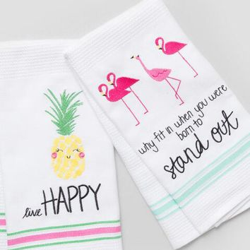 Palm Beach Tea Towel Set