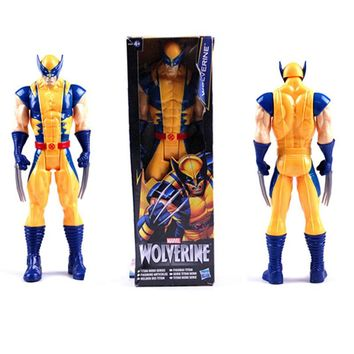 New! 1pc 12inch Marvel X-man toys The Avengers figures Superhero Wolverine Action Figures PVC toys for boys