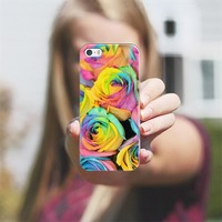 Rainbowlicious iPhone 5s case by Lisa Argyropoulos | Casetify