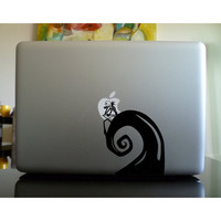 Nightmare Before Christmas mac sticker mac by CreativeHowShop
