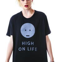 Kill City High On Life Tee Vintage Black