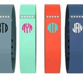 Fit Bit Monogram Decal - Free Shipping!! - set of two decals