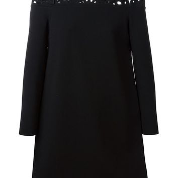 Valentino butterfly cut out sweater dress