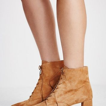 Free People Dacile Lace-Up Boot