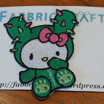 Hello Kitty TokiDoki Sandy iron On Patch by FabbricCrafts on Etsy