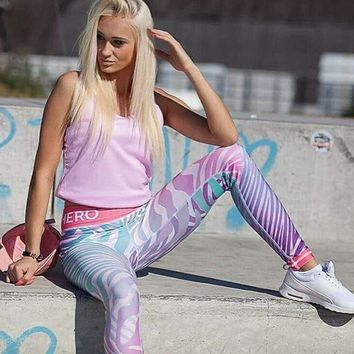 New body-hugging stretch leggings hero yoga workout pants girl Trousers Sweatpants