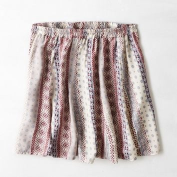 DON'T ASK WHY FLOWY KNIT SKIRT