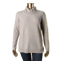 Lauren Ralph Lauren Womens Vainia Cashmere Long Sleeves Pullover Sweater