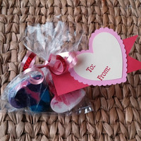 Valentine's Day Cards For Kids - Two Pack - Crayon Hearts - School Valentines - Vday Ideas For Kids