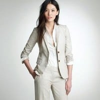 Women's blazers - suiting jackets - Nouvelle jacket in super 120s - J.Crew